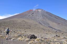 Mt. Ngauruhoe, Tongariro National Park.