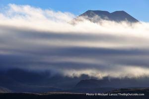 Mt. Ngauruhoe, Tongariro National Park, New Zealand.