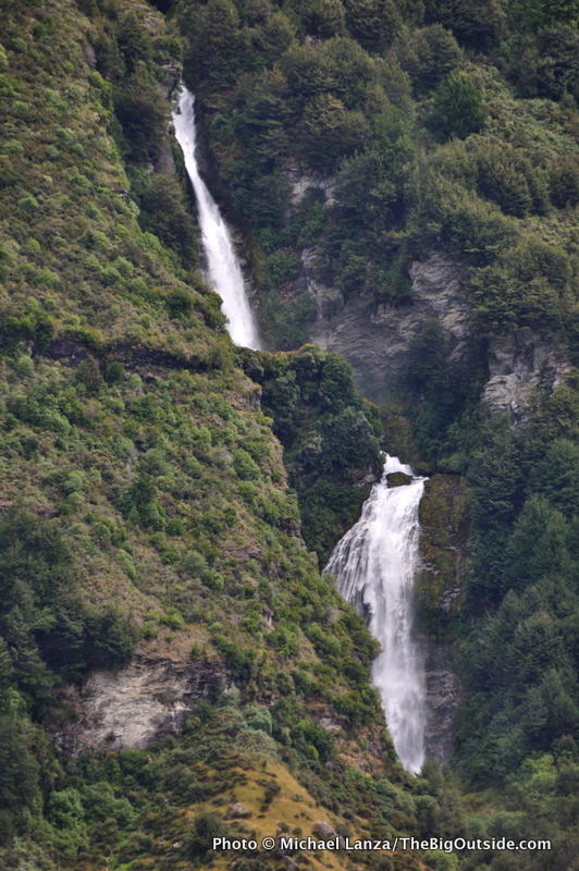 Lennox Falls, Rees Valley, Rees-Dart Track
