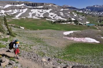 Teton Crest Trail.