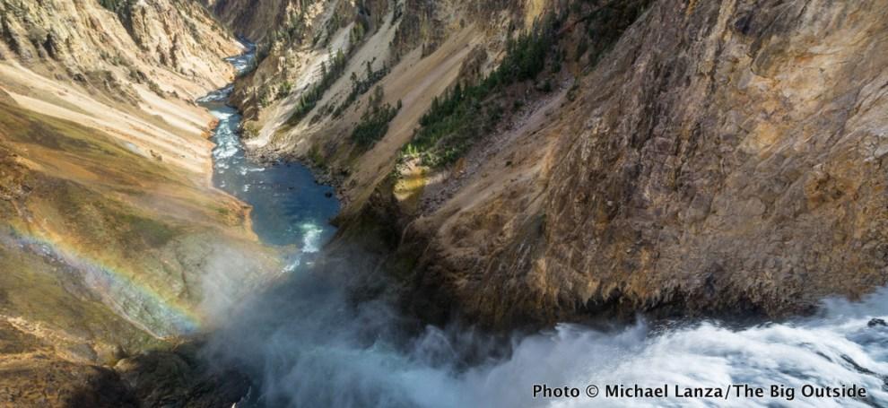 Lower Yellowstone Falls, Grand Canyon of the Yellowstone River.