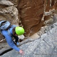 Penny in Stegasaur Canyon.