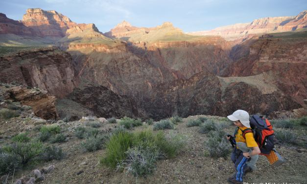 Dropping Into the Grand Canyon: A four-day hike from Grandview Point to the South Kaibab Trail