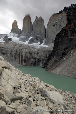 Torres del Paine towers.