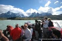Lago Pehoe catamaran.