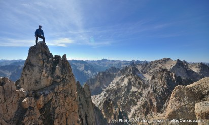 Chasing Summer's Tail Climbing in Idaho's Sawtooths and Castle Rocks