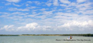 Canoeing the Ten Thousand Islands, Everglades.
