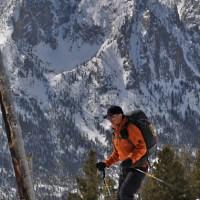 Skiing The Triangle on Mt. Heyburn.