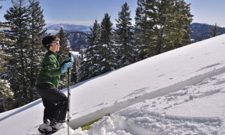 A 12-Year-Old's First Time Skiing Wild Snow