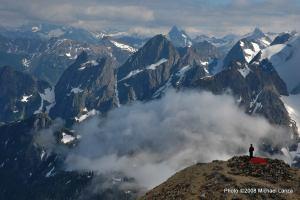 Sahale Glacier Camp, North Cascades National Park