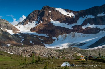 Upper Lyman Lakes Basin, Glacier Peak Wilderness.