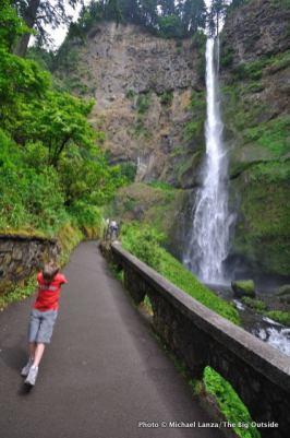 Multnomah Falls.
