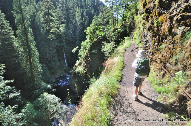 Eagle Creek Trail.