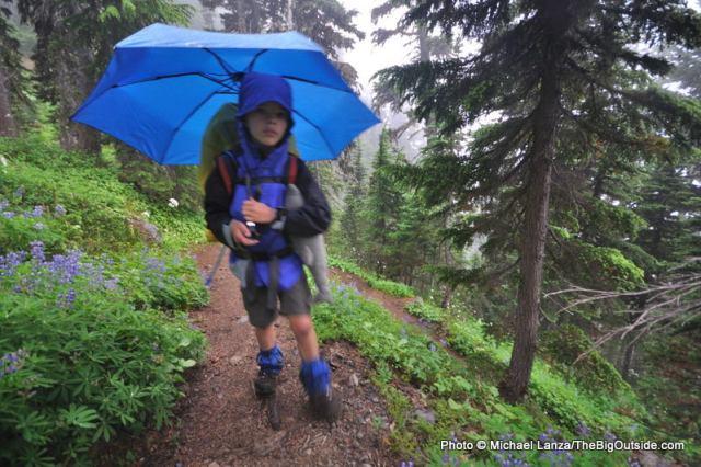 Wonderland Trail, Mt. Rainier National Park, WA.