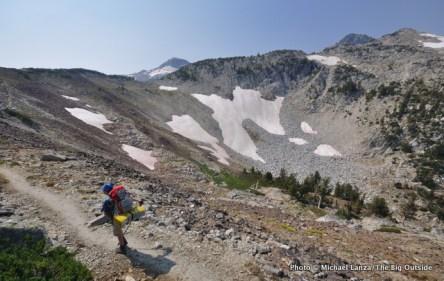 Trail 1806 to Glacier Pass