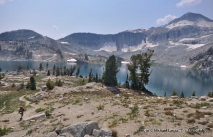 Trail 1806 at Glacier Lake