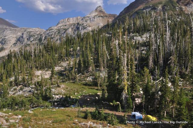 Camp, Little Frazier Lake