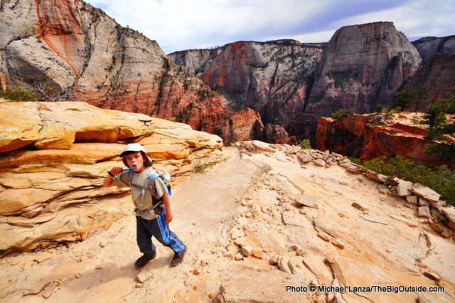 West Rim Trail, Zion National Park, Utah.