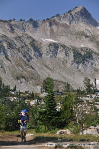 Hiking to the Lakes Basin.