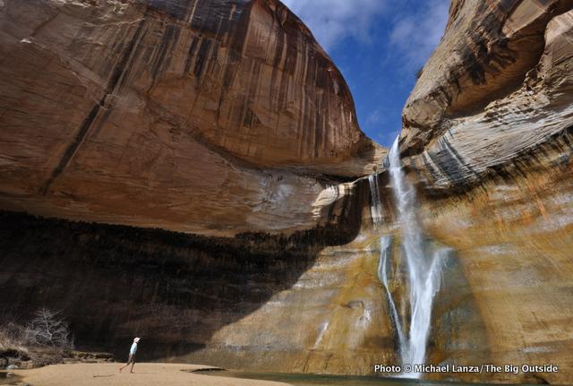 Lower Calf Creek Falls, Grand Staircase-Escalante National Monument, Utah.