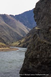 Eagle Nest, Oregon Snake River Trail, Hells Canyon