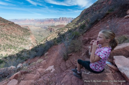 Alex, Grandview Trail, Grand Canyon.