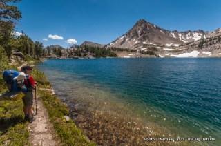 Cove Lake, White Cloud Mountains.