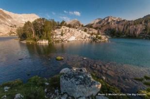 Cove Lake, White Cloud Mountains, Idaho.