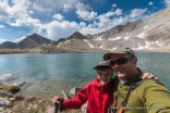 At Cirque Lake in the Big Boulder Lakes.