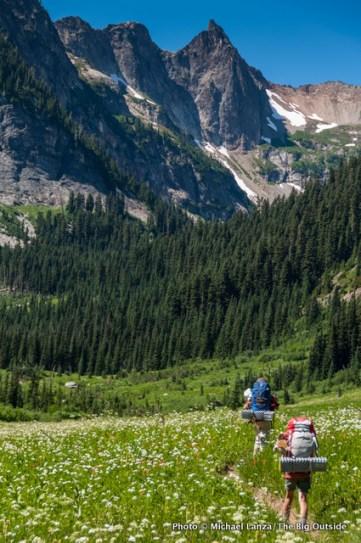 Spider Meadow, Glacier Peak Wilderness, Washington.