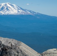 Crater rim, Mount St. Helens, Washington.