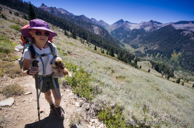 Hiking to Timber Gap, Sequoia National Park.