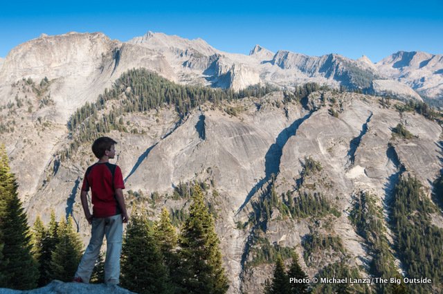View from Bearpaw Meadow, Sequoia N.P.
