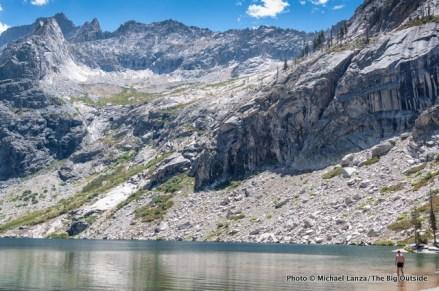 Hamilton Lakes, High Sierra Trail.