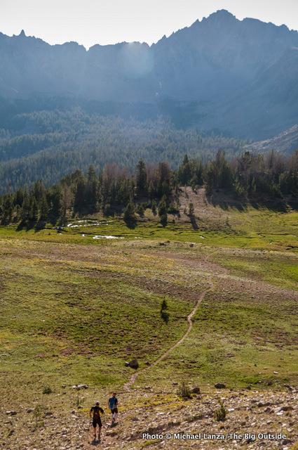 Ants Basin, White Cloud Mountains, Idaho.