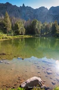 Born Lakes, White Cloud Mountains.