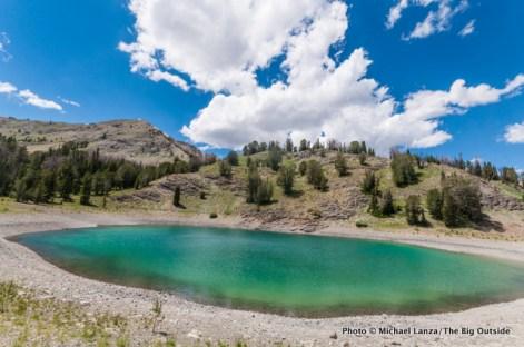 Lake in Chamberlain Basin.