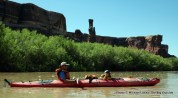 Floating the Green River, Canyonlands National Park.