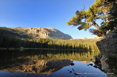 Ouzel Lake, Rocky Mountain National Park.