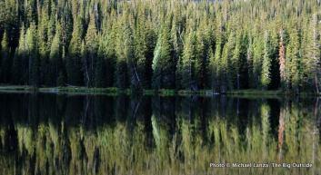 Ouzel Lake, Rocky Mountain National Park.