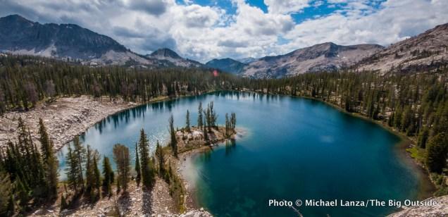 Heart Lake, above Flytrip Creek.