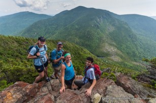 On the Wildcat Ridge Trail above Carter Notch, White Mountains, N.H.