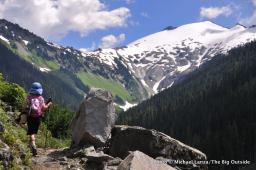 Hannegan Pass Trail, North Cascades National Park.