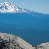 Crater rim, Mount St. Helens.
