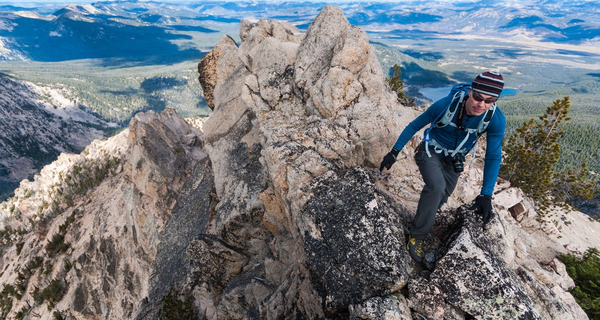 One Photo, One Story: Climbing McGown Peak in Idaho's Sawtooths