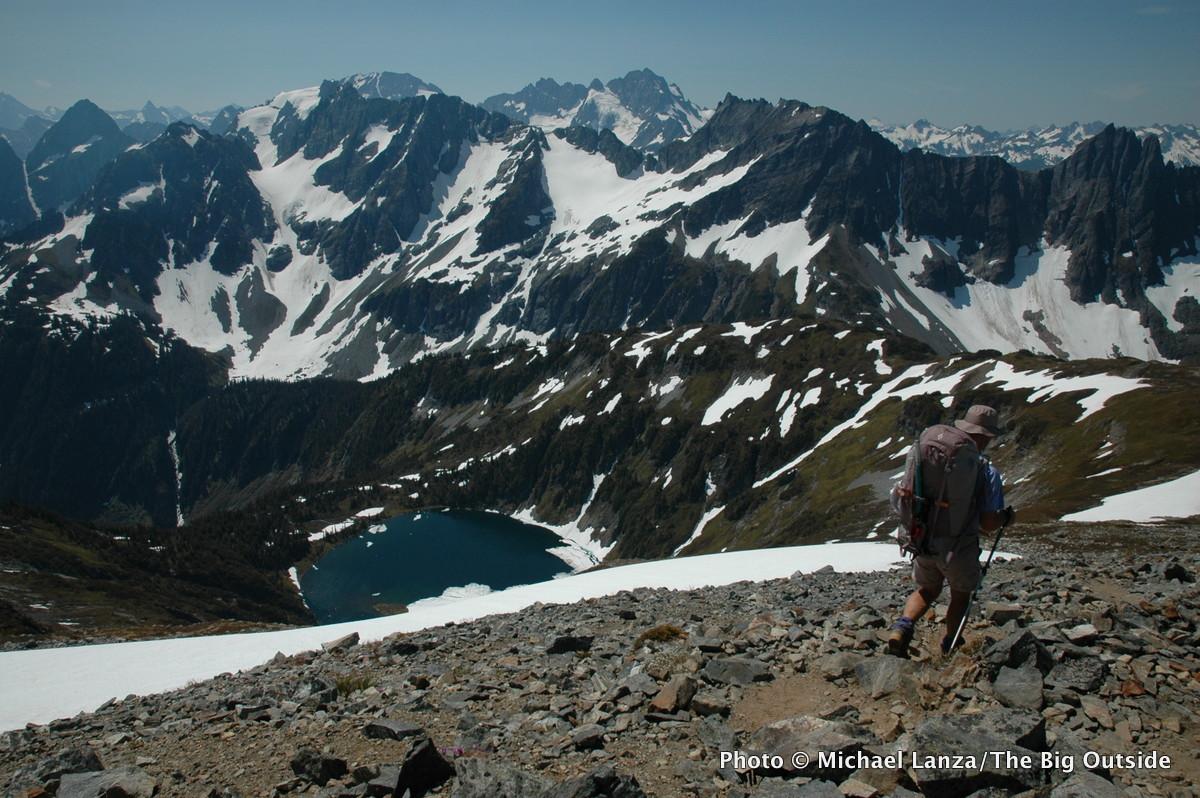 Sahale Arm, North Cascades National Park, Washington.