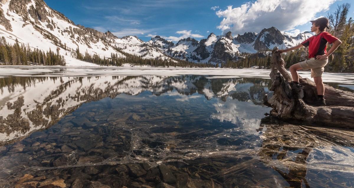 One Photo, One Story: Alice Lake in Idaho's Sawtooth Mountains
