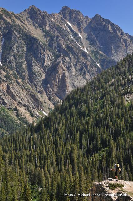 South Fork Cascade Canyon, Grand Teton National Park.