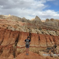 Near the Frying Pan Trail, Capitol Reef National Park, Utah.