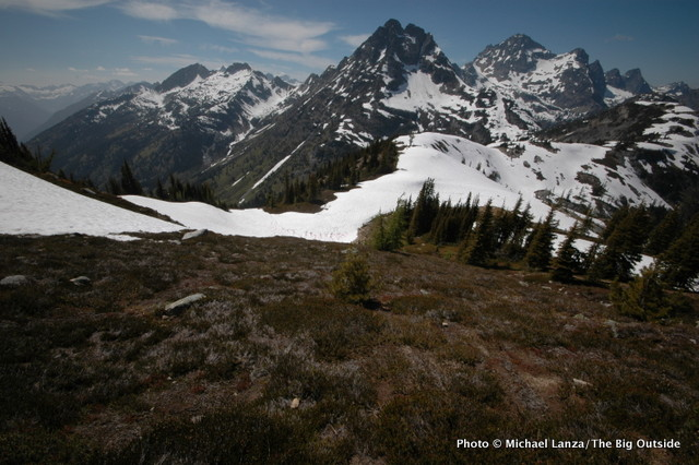 Maple Pass-Heather Pass Loop, North Cascades.